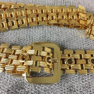 Accessories - Gold Metal Belt